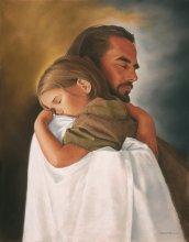 Jézus és egy gyermek